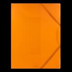 1300001C10_Chemise à 3 rabats PP Plates Orange