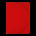 1300001C12_Chemise à 3 rabats PP Plates Rouge