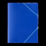 1300001C3_Chemise à 3 rabats PP Plates Bleu
