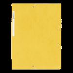 1300038C7_Chemise à 3 rabats carte lustrée Jaune