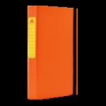 1300046C25_Chemise à 3 rabats en Carton Fluo D 30 Mm Orange