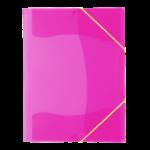 Chemise à rabat rose Fluo