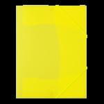 Chemise à rabats Fluo jaune.