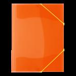 Chemise à rabats Fluo orange