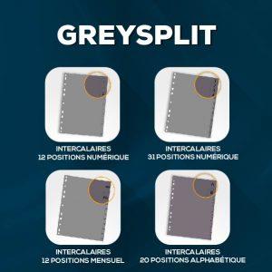 Collection GREYSPLIT V2-01